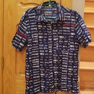 c8404685f Moschino Shirts   Mare Mens Button Down Shirt   Poshmark